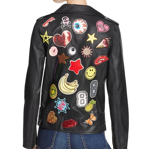 db4b8dfa49f6e Sunset + Spring Jackets & Coats | Sunset Spring Faux Leather Moto ...